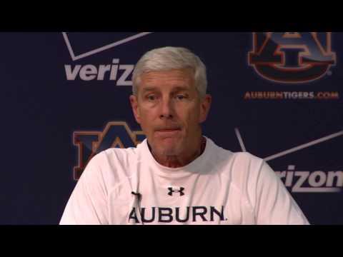 Auburn Defensive Coordinator Ellis Johnson