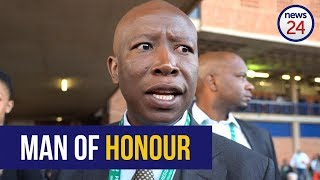 WATCH: Malema says Ramaphosa is no different from Zuma if he appoints Gordhan