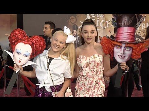 "JoJo Siwa & Kendall Vertes ""Alice Through the Looking Glass"" Premiere"