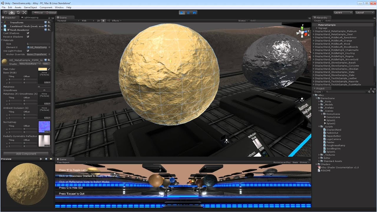 Cutting edge AAA shading technology for all – Unity Blog