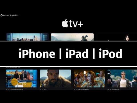How To Watch Apple TV + On IPhone IPad IPod