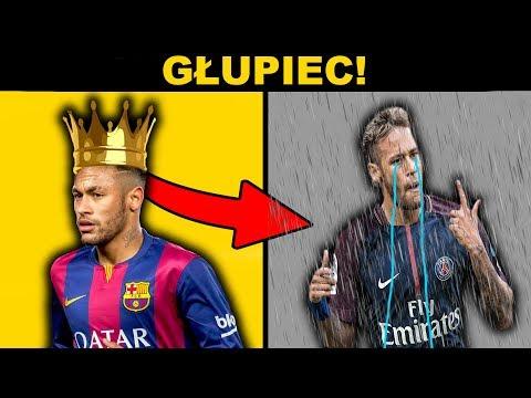 Neymar w PSG! GŁUPIEC ROKU!