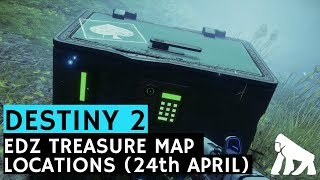 Destiny 2 / EDZ Treasure Map Locations, Cayde-6's Stash (24th April)