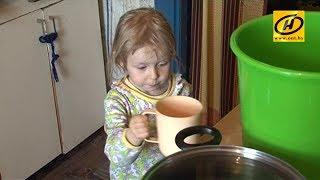 Многодетная семья в Наровлянском районе полгода живёт без воды