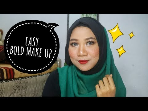 tutorial-make-up-pesta/wedding-party-(easy-bold-make-up-full-coverage)-for-acne-prone-skin