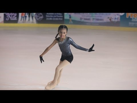 Nayfa Ikut Lomba Ice Skating Cover BLACKPINK - '마지막처럼 (AS IF IT'S YOUR LAST)'
