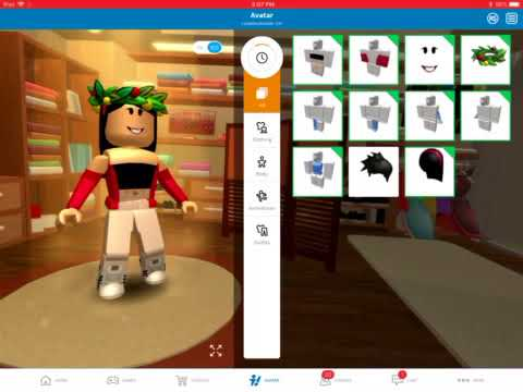 How To Put Two Hairs On Roblox Ipad Mobile Youtube
