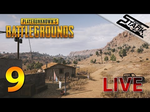 Playerunknown's Battlegrounds - 9.Rész (Sivatagi pálya / új map) - Stark LIVE