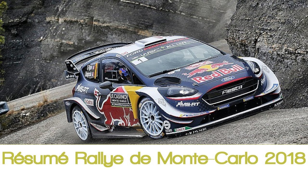 r sum rallye de monte carlo 2018 rallye wrc youtube. Black Bedroom Furniture Sets. Home Design Ideas