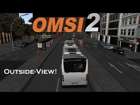 Omsi 2 ★ Map Hamburg Tag&Nacht *Outside-View* Linie 109 | Part 2/5 [HD]