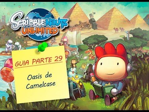 GUIA Scribblenauts Unlimited 3DS - Parte 29: Oasis de Camelcase