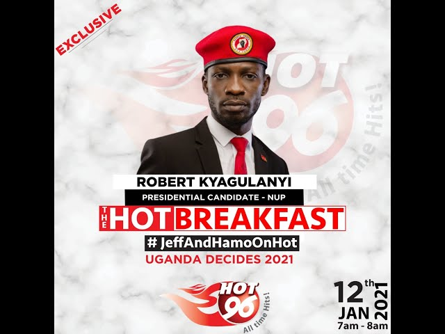 Bobi Wine Cuts Short Interview With Hot 96 Radio as Miliitary Breaks Into  His Home
