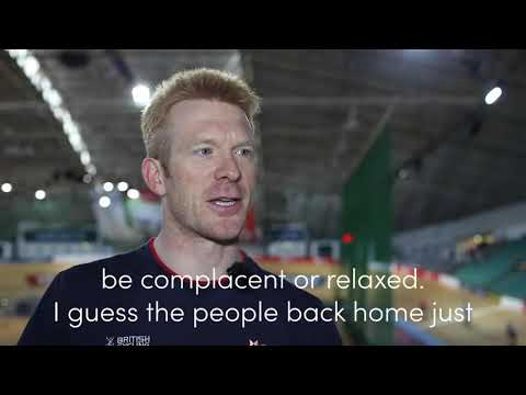 Ed Clancy | UCI Track World Cup Glasgow 2019