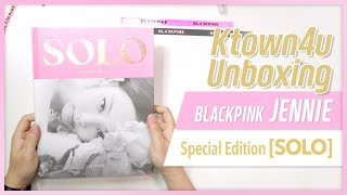 [Ktown4u Unboxing] BLACKPINK JENNIE - Photobook [SOLO] SPECIAL EDITION 블랙핑크 제니 솔로 스페셜 에디션 언박싱 KPOP