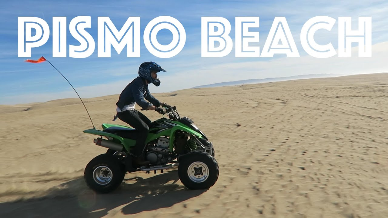 Riding Quads In Pismo Beach