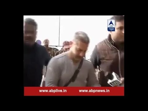 Amir khan's First public appearance after controversy