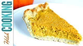 Gluten-free Pie Crust Recipe + Pumpkin Pie Filling