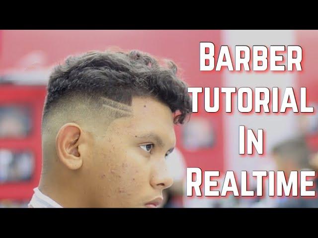 Barber Tutorial in Realtime! Bald Fade | Instagram Live Request