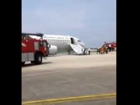 Capital Airlines #JD5759 to Macao diverted to Shenzhen and evacuated via emergency slides