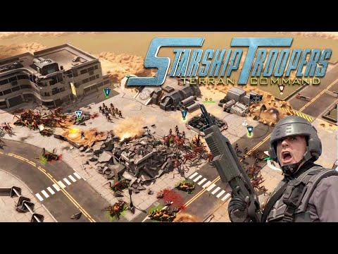 Starship Troopers Terran Command   El Único INSECTO Bueno es el Insecto MUERTO ! - PRIMER GAMEPLAY