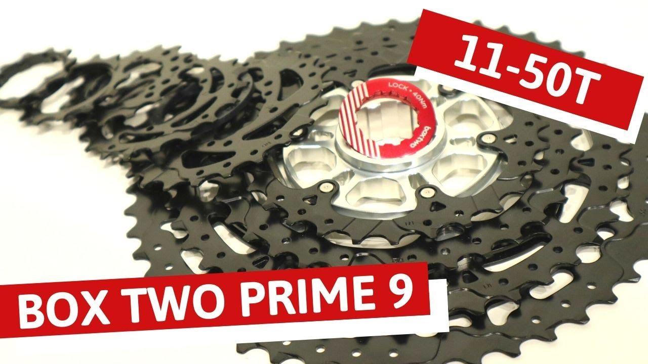 Black BOX Two Prime 9 Cassette 11-50t