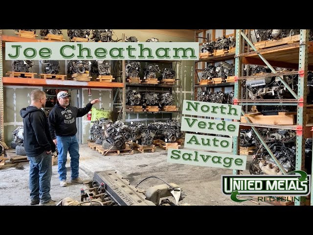 B.O.T.G. with Joe Cheatham owner of North Verde Auto Salvage