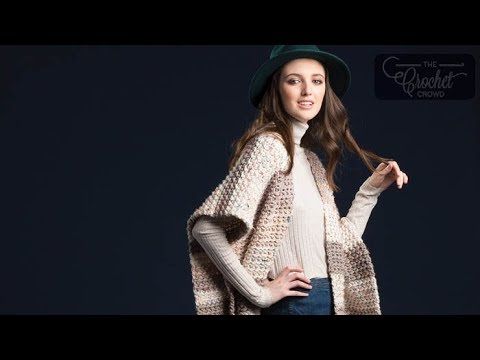 Crochet Ruana YouTube Amazing Crochet Ruana Pattern