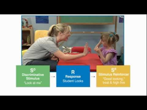 Discrete Trial Teaching - Autism Therapy Video from YouTube · Duration:  1 minutes 14 seconds