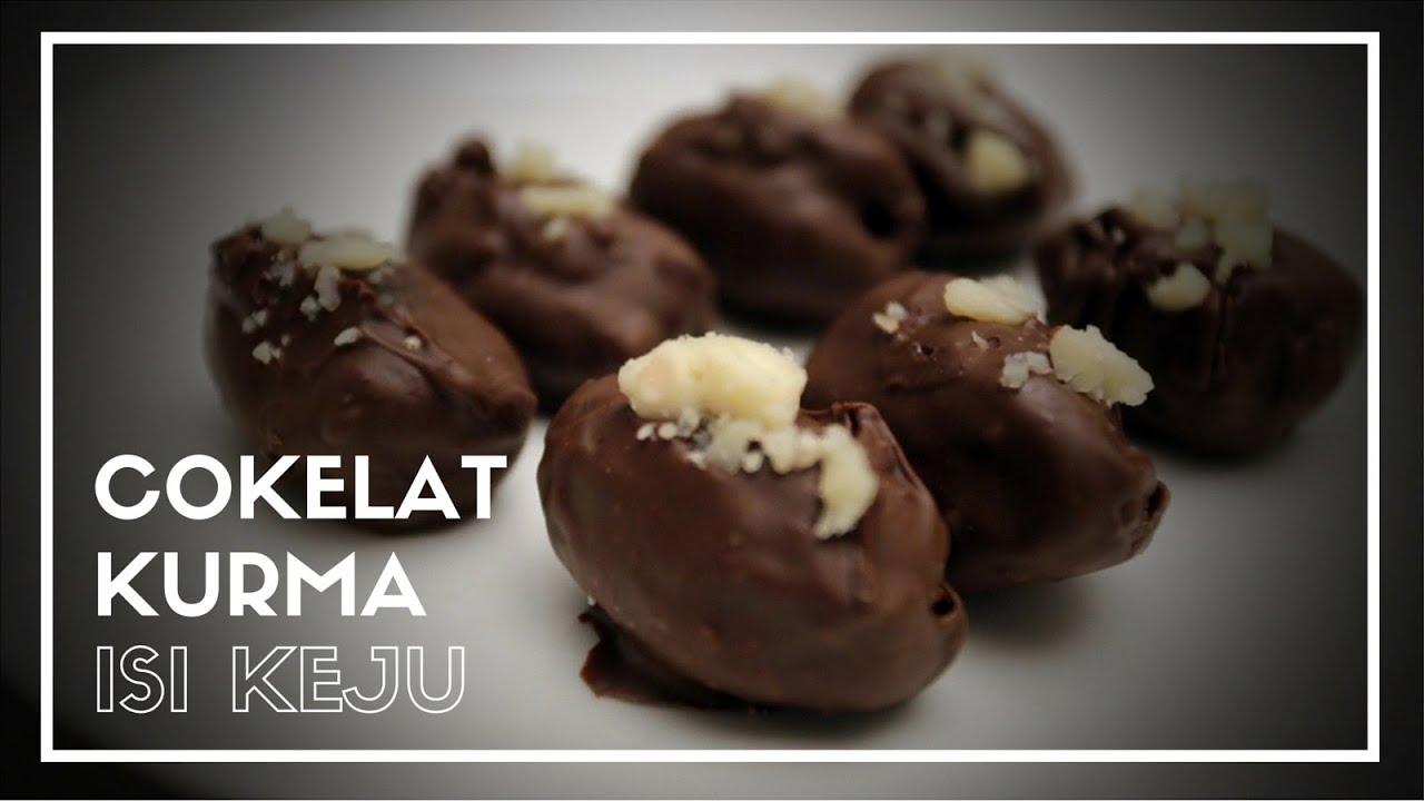 Cokelat Kurma Isi Keju Cooking With Me 02 Youtube