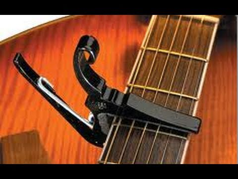 Cool Drop D Style Capo Trick Tutorial  No Detuning Needed  Free Online Acoustic Guitar Lesson