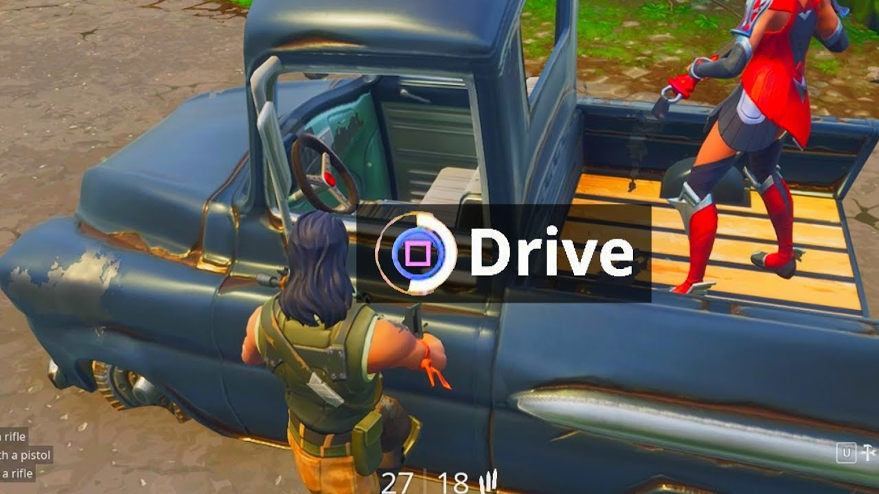 Default Skin Hacker can drive ANY vehicle on Fortnite ...