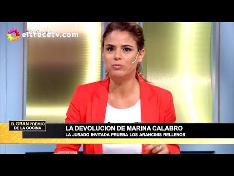El gran premio de la cocina - Programa 14/11/18 - Jurado invitada: Marina Calabró