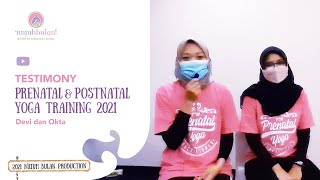 Testimonials Prenatal & Postnatal Yoga Training : Devi dan Okta