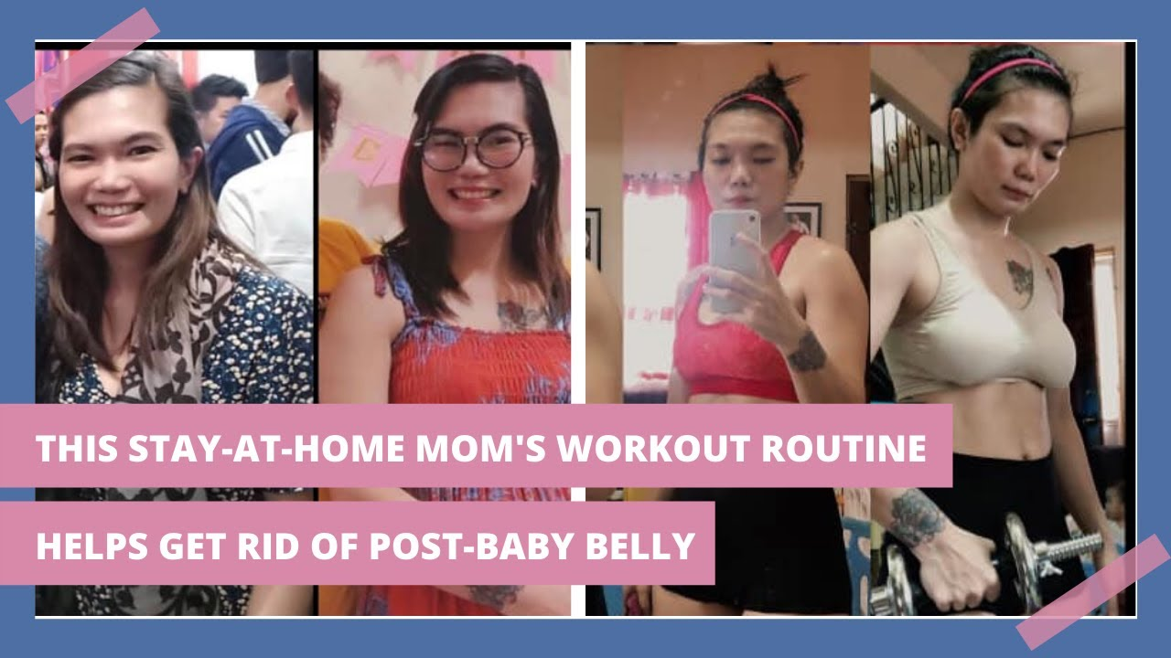 This Stay-At-Home Mom's Energizing Workout Routine Can Help You Lose Your Post-Baby Belly