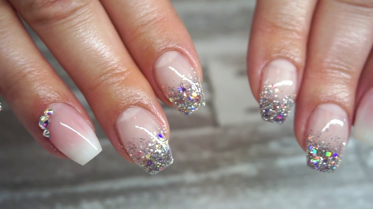 Easiest Gel Baby Boomerfrench Ombre Nails Using Just Two Products