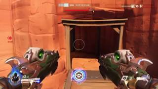 Overwatch PS4 Competitive Gameplay | Reaper 47 Eliminations