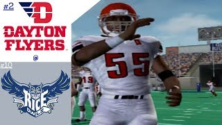 NCAA Football 06 Dynasty | Week 4 Game 7 | #2 Dayton Flyers @ #10 Rice Owls