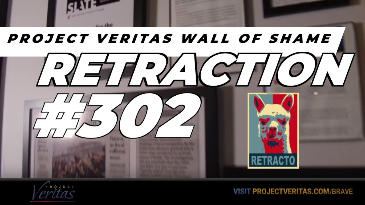 Project Veritas Wall of Shame Retraction #302 - Nick Jack Pappas