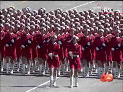 Military Parade: Soldier Formations - National Day 2009 in Beijing
