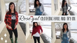 ROSEGAL CLOTHING HAUL AND TRY ON | CUTE INEXPENSIVE CLOTHES | WINTER CLOTHING HAUL