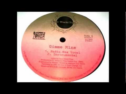 New World Poet - Gimme Mine (rare indie rap)