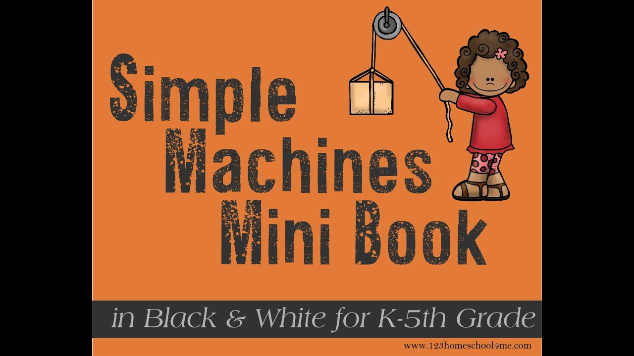FREE Simple Machines Booklet [ 720 x 1280 Pixel ]