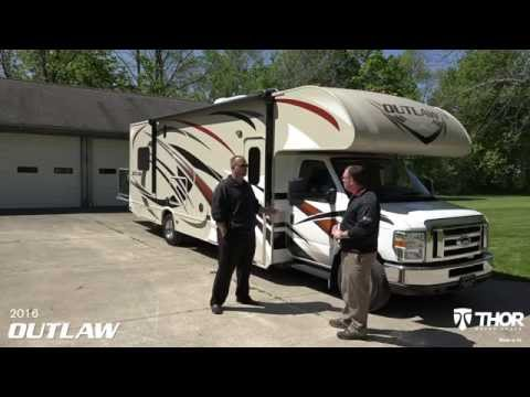 2016 Outlaw Class C Toy Hauler from Thor Motor Coach