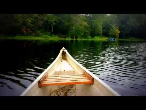 🍃 Canoeing in Canada ~ HD Nature ~ Relaxing River Sights and Sounds while Paddling