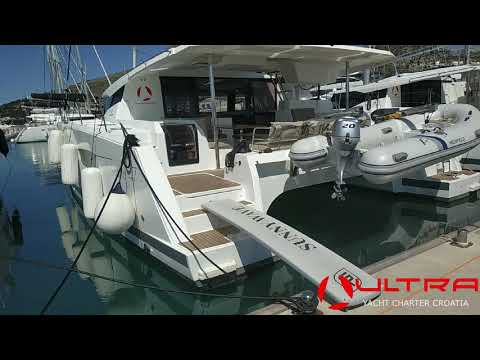 Ultra Sailing Croatia - walk-through catamaran Saona 47