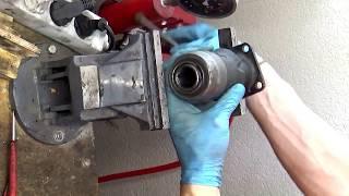 How to repair replace Hilti TE 905-AVR tool holder TE905 demolition hammer