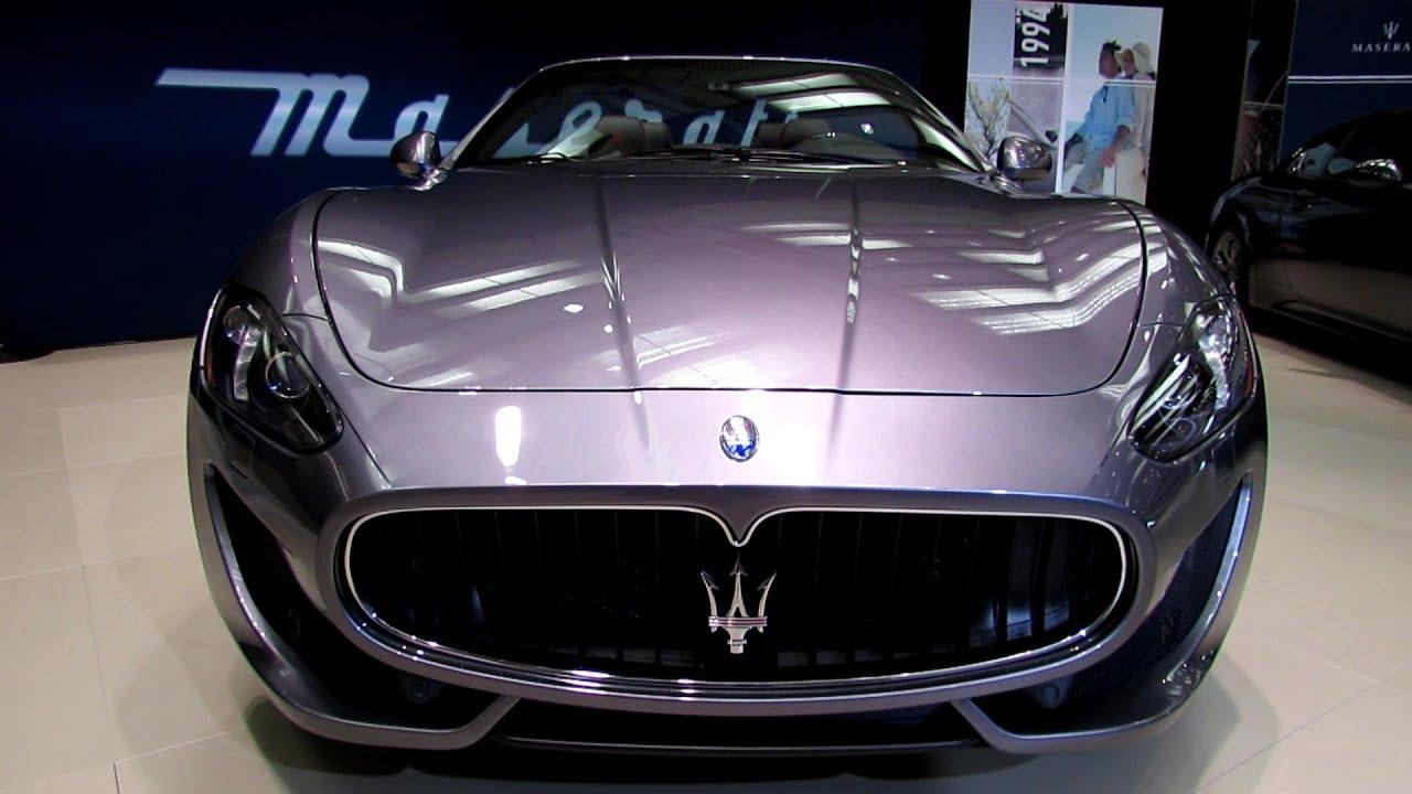 2013 Maserati GranTurismo Convertible Sport   Exterior Walkaround   2013  Toronto Auto Show   YouTube