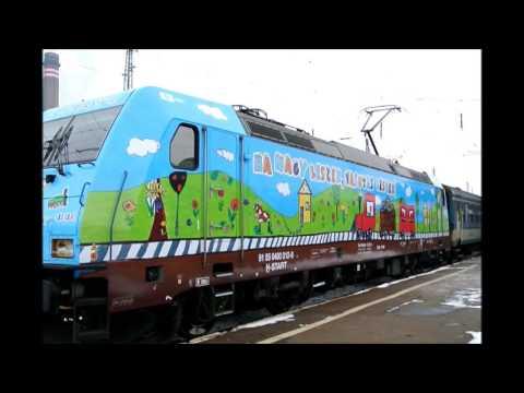 """480 012-es """"Ha nagy leszek vasutas leszek"""" Traxx érkezik Debrecenbe és indul Záhonyba"""