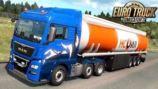 Szybki transport LPG - Euro Truck Simulator 2   (#33)