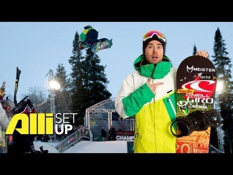 Steve Fisher Snowboard Setup